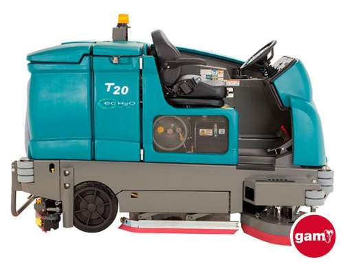 Tennant T20 industrial ride-on scrubber