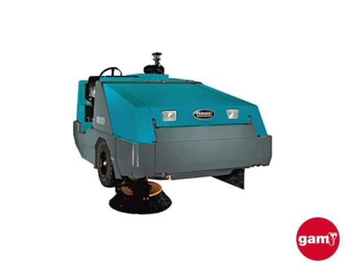 Tennant 800 industrial ride-on sweeper
