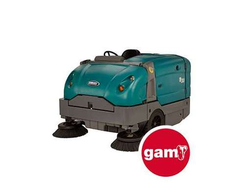 Tennant S20 mid-size, compact ride-on...