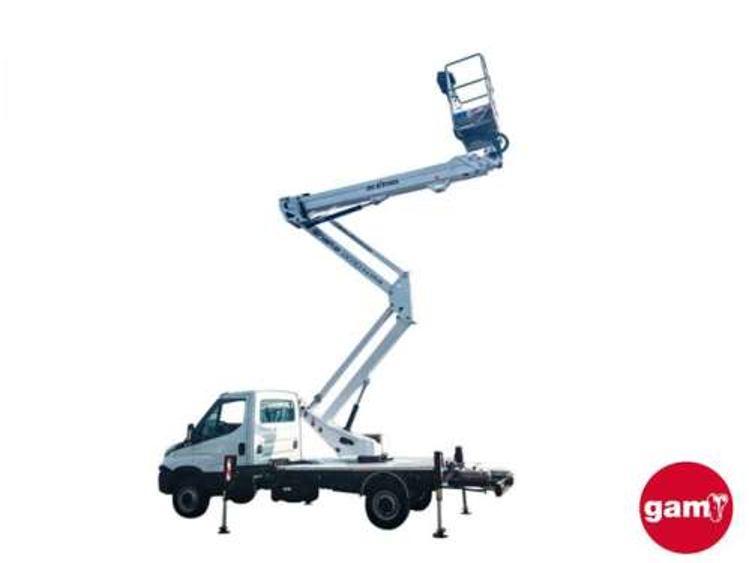 Plataforma sobre camión Snake 2815 PLUS