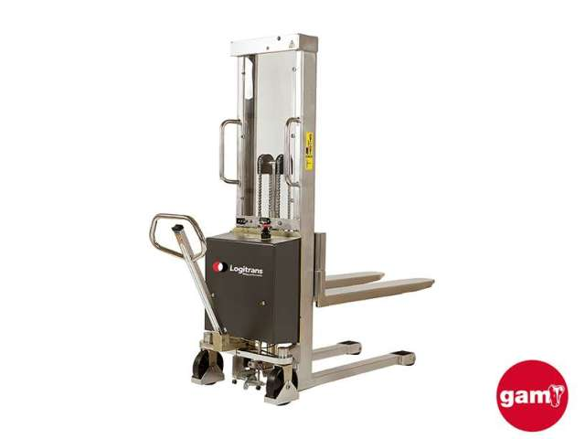 Apilador manual de acero inoxidable 1000 kg Logitrans EHSI