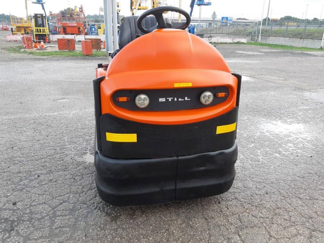 Transpaleta de tijera inoxidable 1500 kg Logitrans HLI Plus