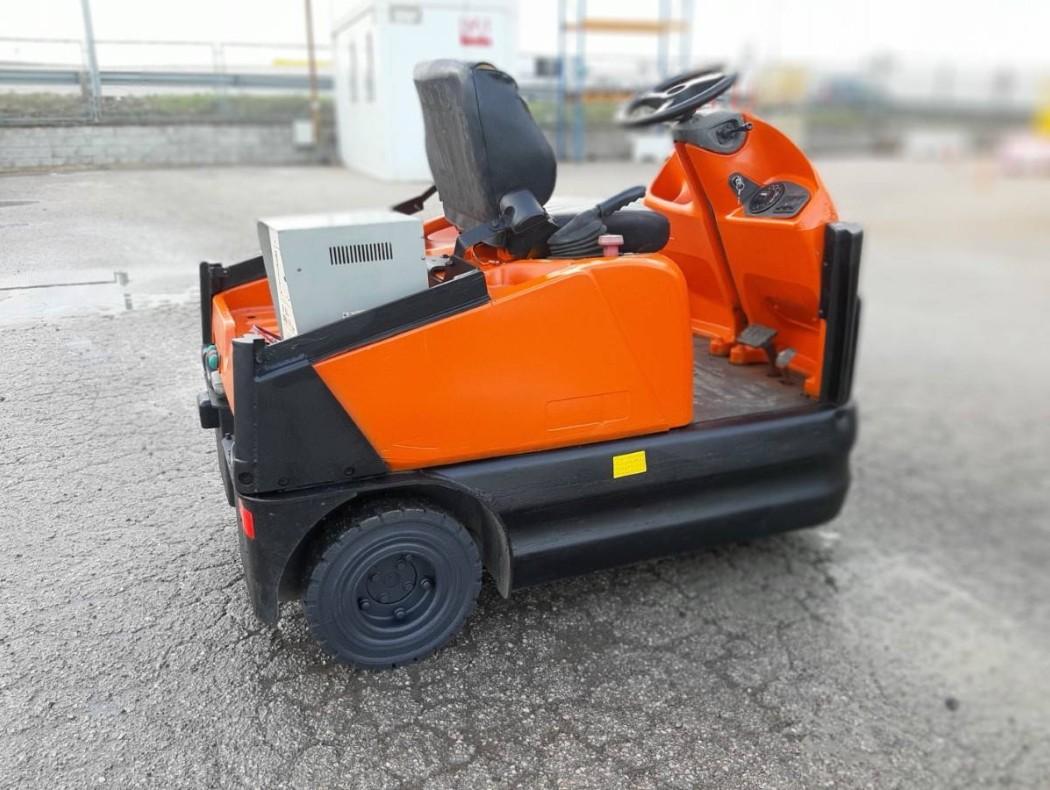 Transpaleta de tijera eléctrica inoxidable 1500 kg Logitrans EHLI