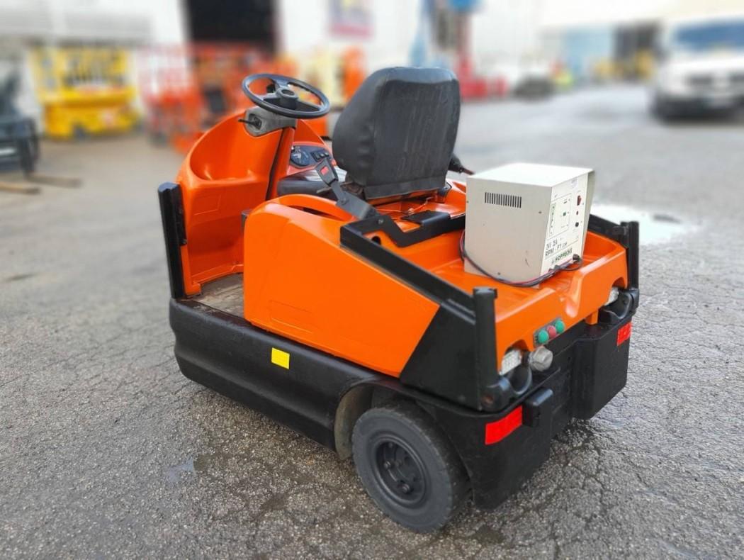 Transpaleta de tijera eléctrica inoxidable 1500 kg Logitrans EHLI - EHLI - Transpaletas   GAM Online