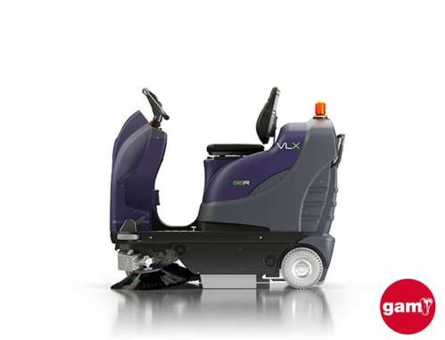 VLX 818R small ride-on sweeper