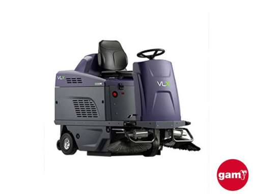 VLX 838R small ride-on sweeper
