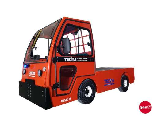 Tecnacar VCA 415 electric charge tractor