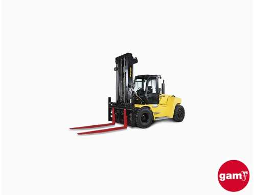 Hyster heavy-duty forklift H10XD