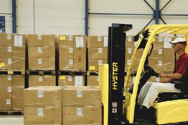 Hyster J1.6XNT three-wheel electric forklift
